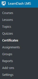 the Certificates.