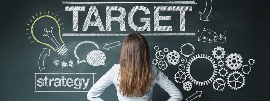 Image of targeting customers