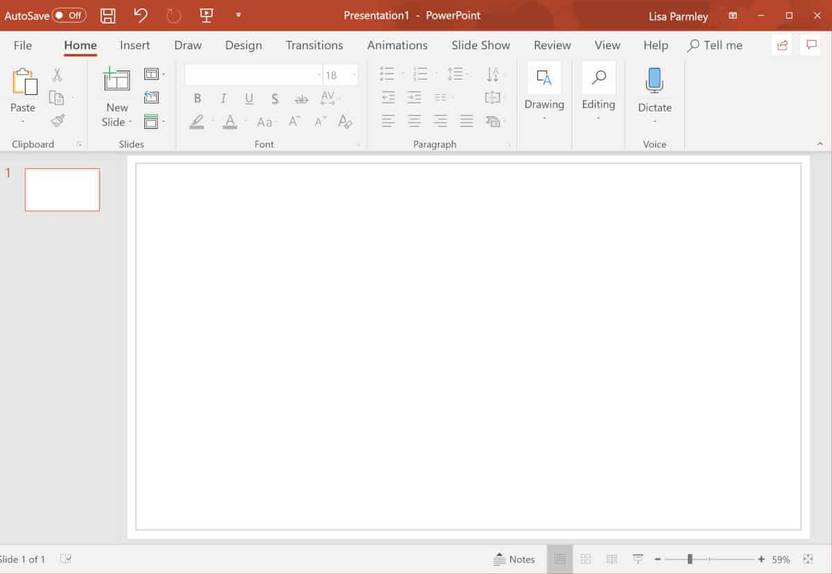 Screenshot showing the finished example border.