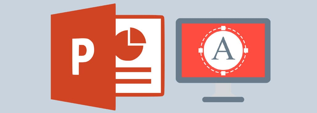 Screenshot with icons to convey highlighting text in PowerPoint.