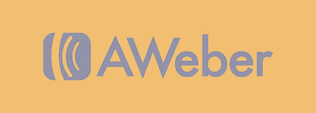 Logo for aweber email marketing tools.