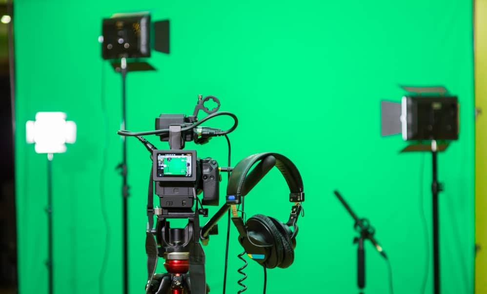 video studio set-up can be expensive