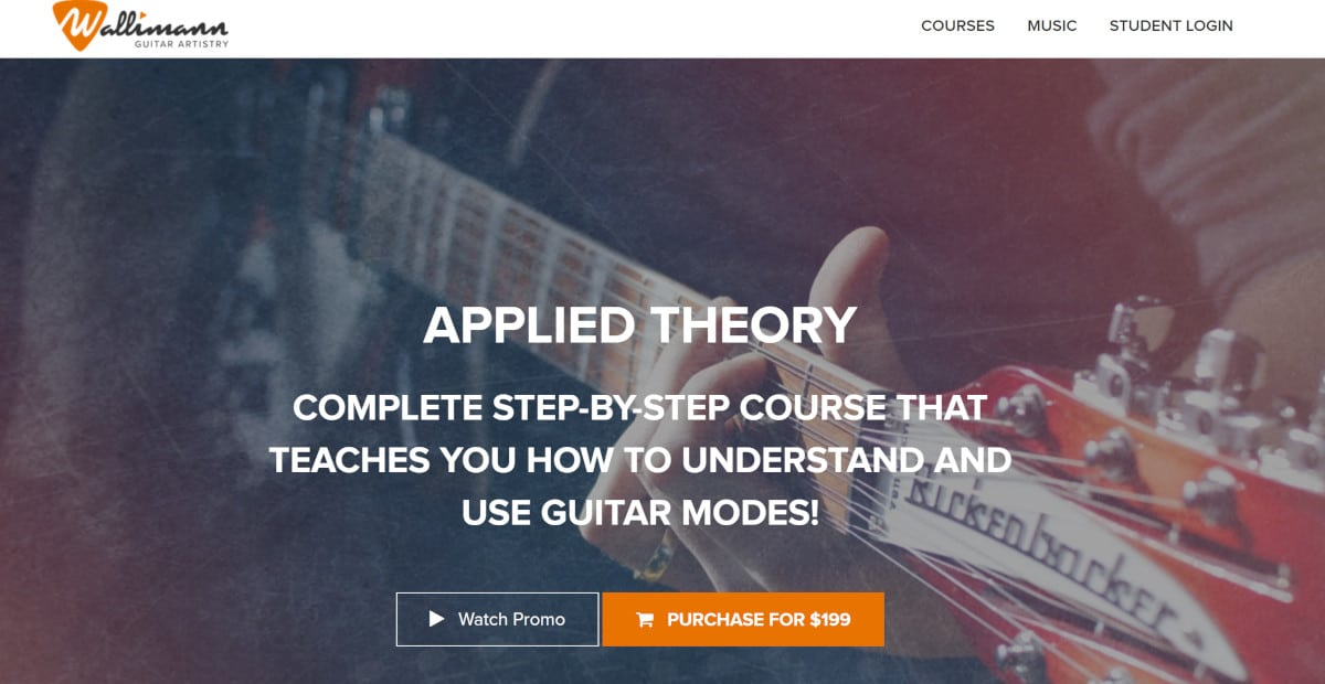Guitar Playback Applied Theory Course Page