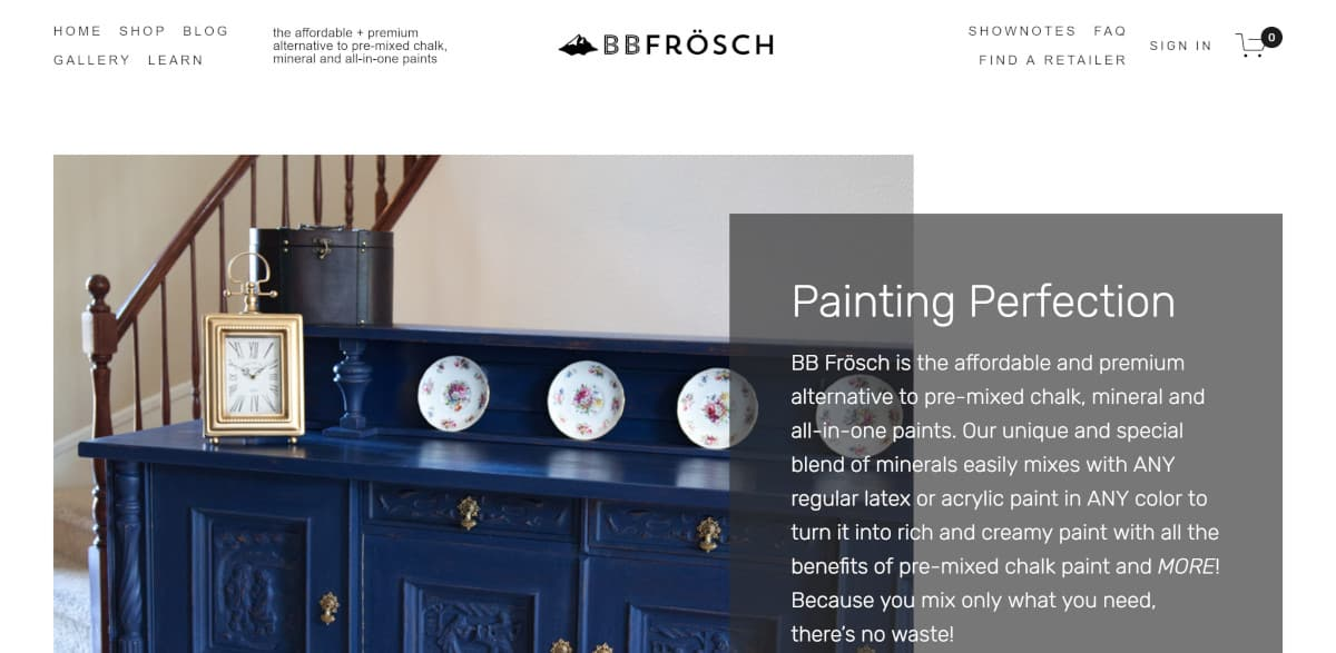 How Kristin Smith of BBFrosch.com Created a Profitable Online Course on Refinishing Furniture