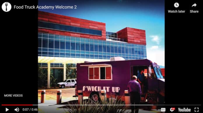 Screenshot of Food Truck Academy lead magnet