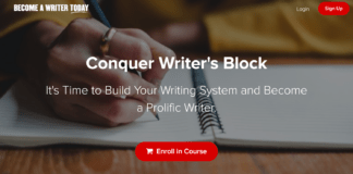 Conquer Writer's Block Course