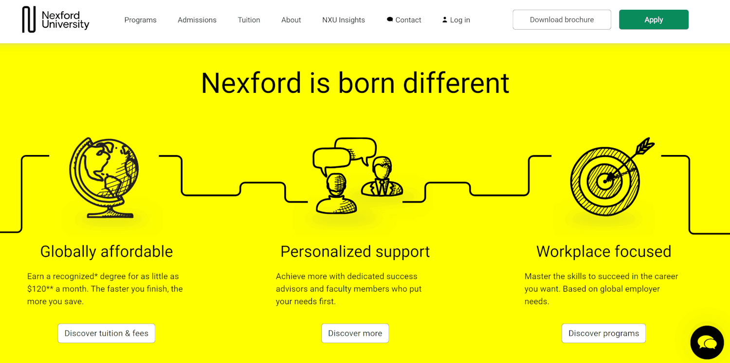 How Nexford.org is Different