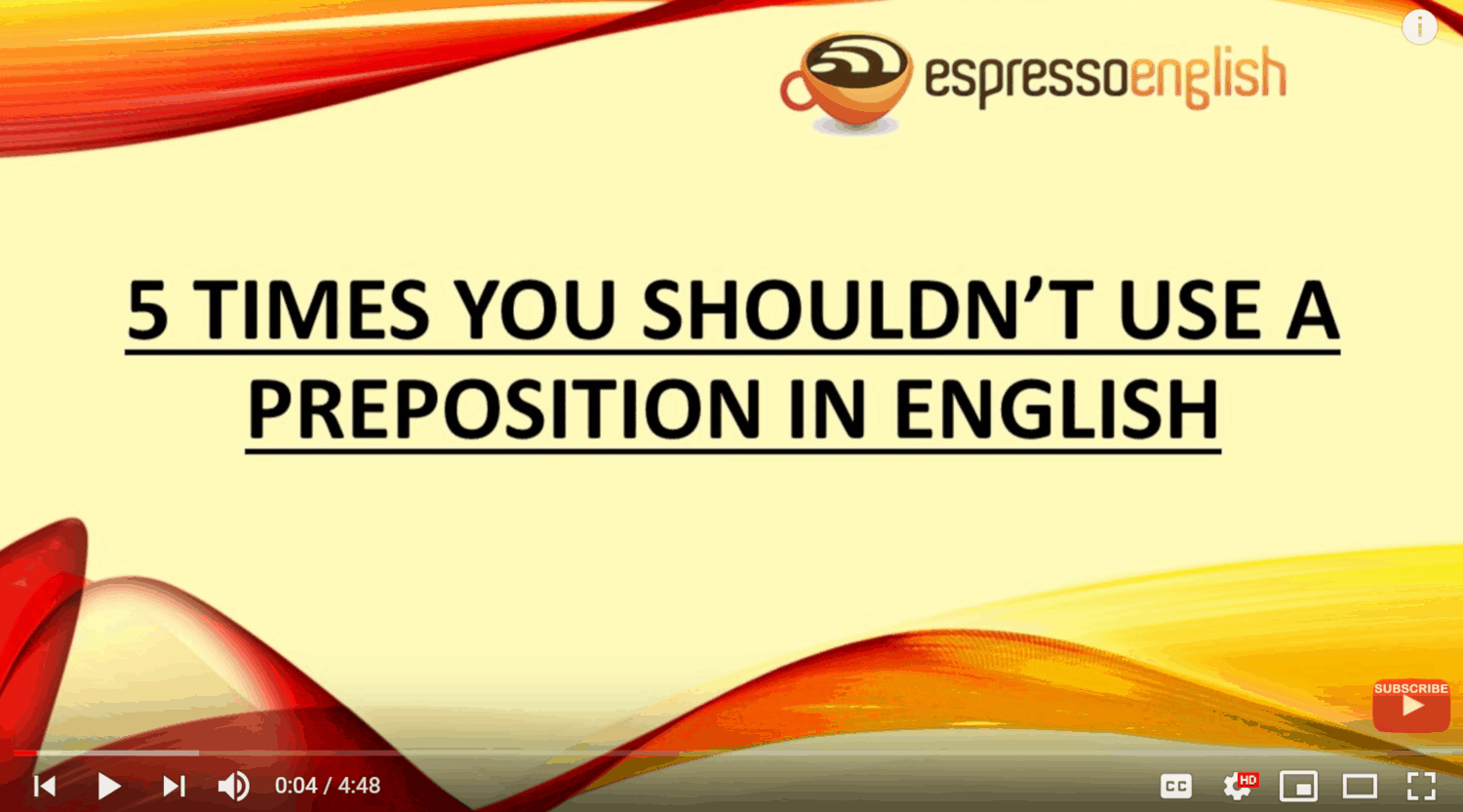 Espresso English Video Sample