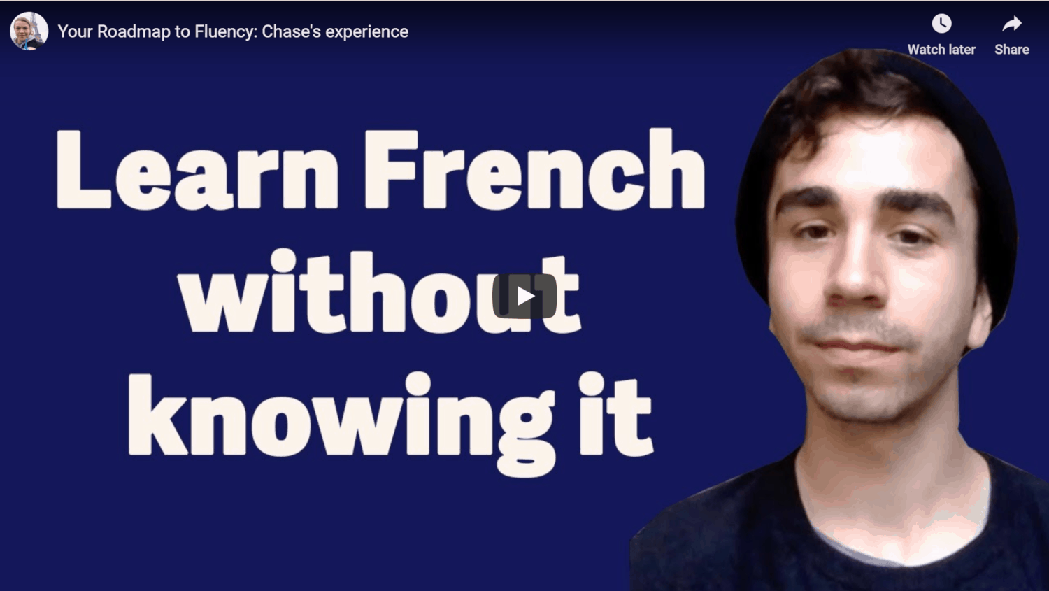 French Fluency Accelerator Success Story