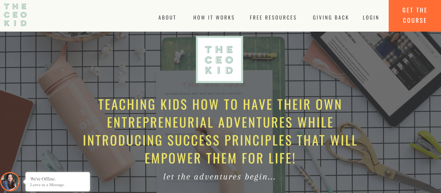 How Leah Remillét of TheCEOKid.com is Building a Business Around Entrepreneurship for Kids
