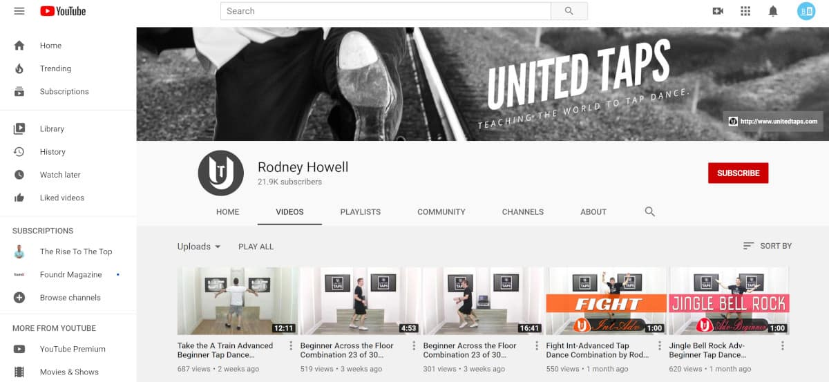 United Taps YouTube Channel