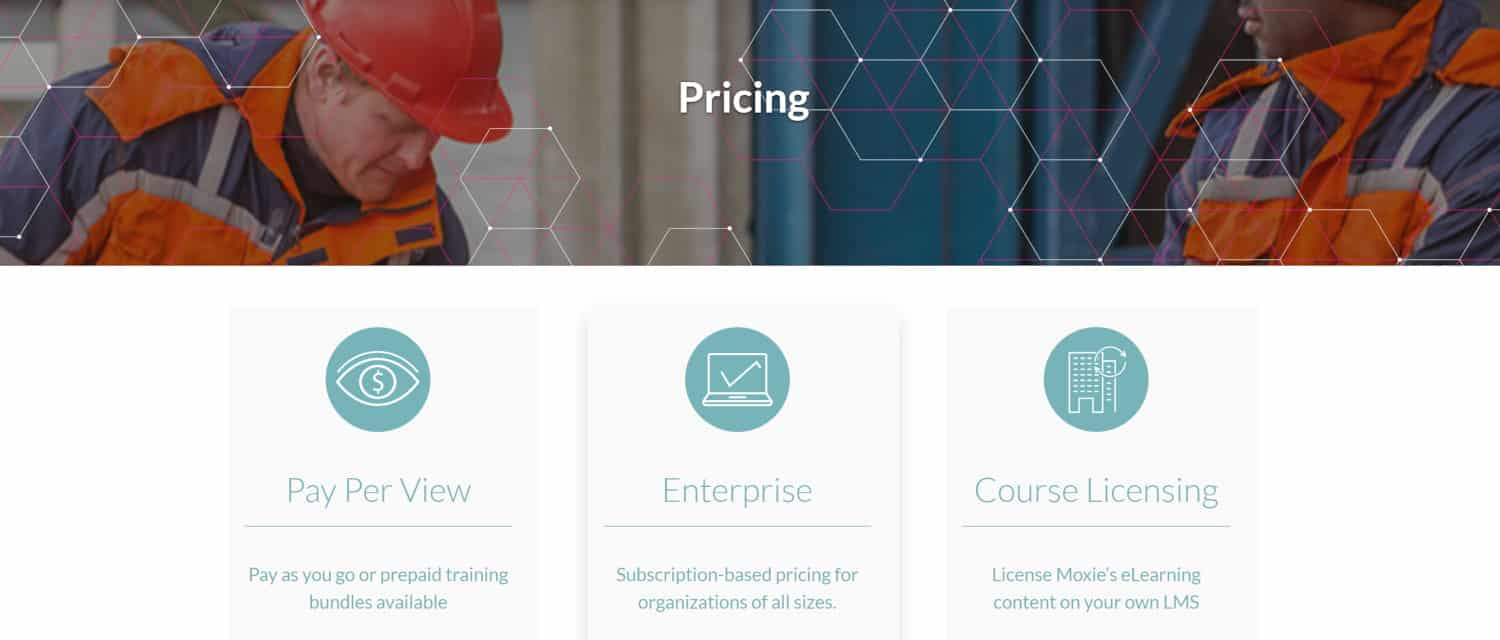 Moxie Learning Pricing
