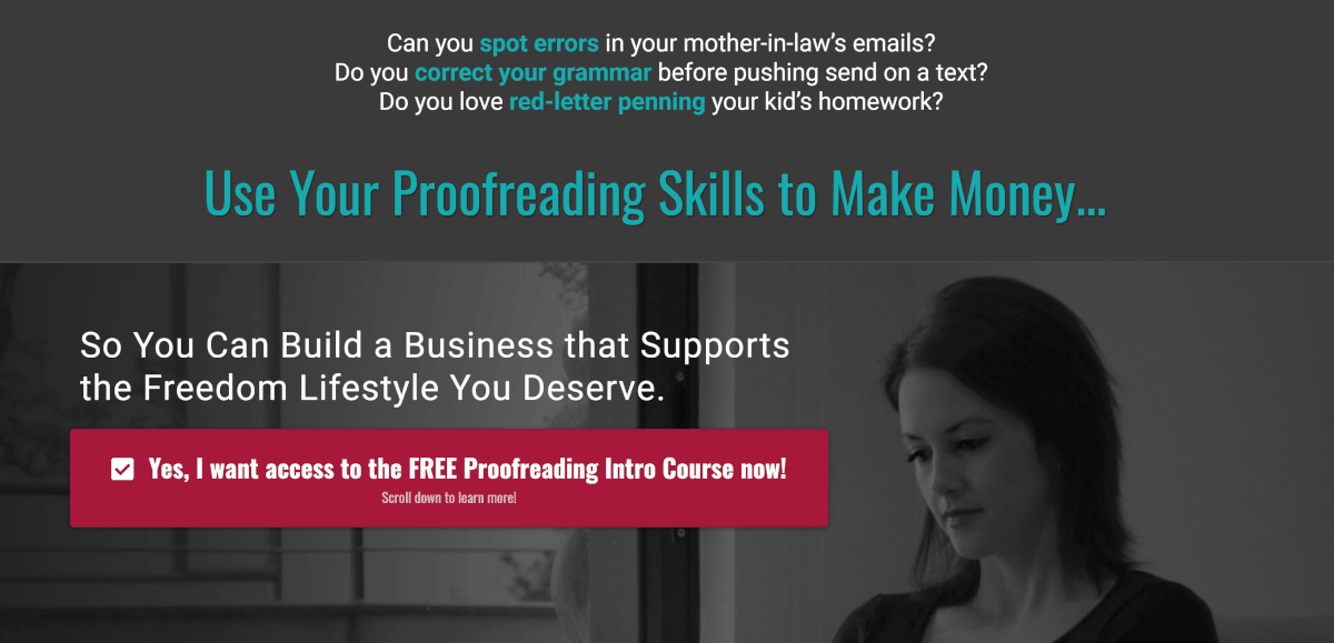proofreadanywhere.com course