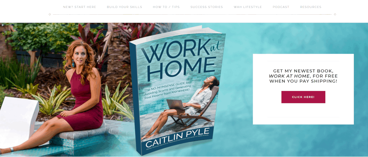 Caitlin Pyle work from home