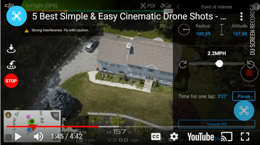 dronegenuity.com showing how to use drones for videos