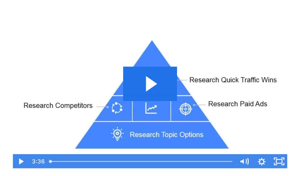 screenshot of a video from the Course Researcher training program