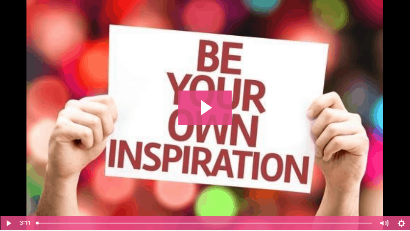 Julie Austin be your own inspiration