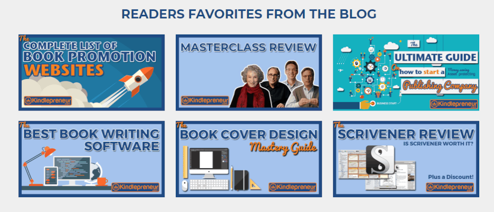 kindlepreneur.com blog favorites