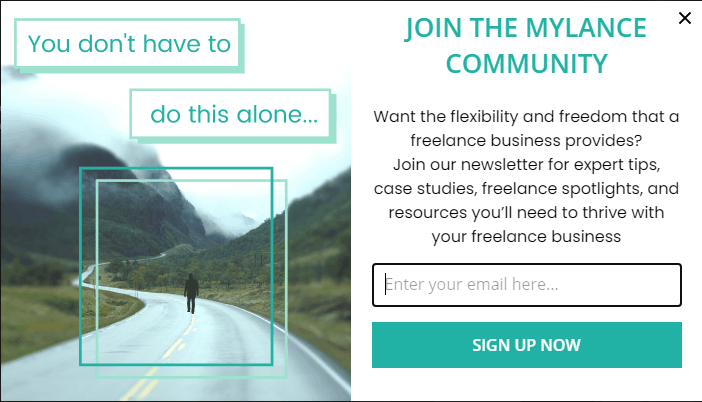 mylance.co opt in
