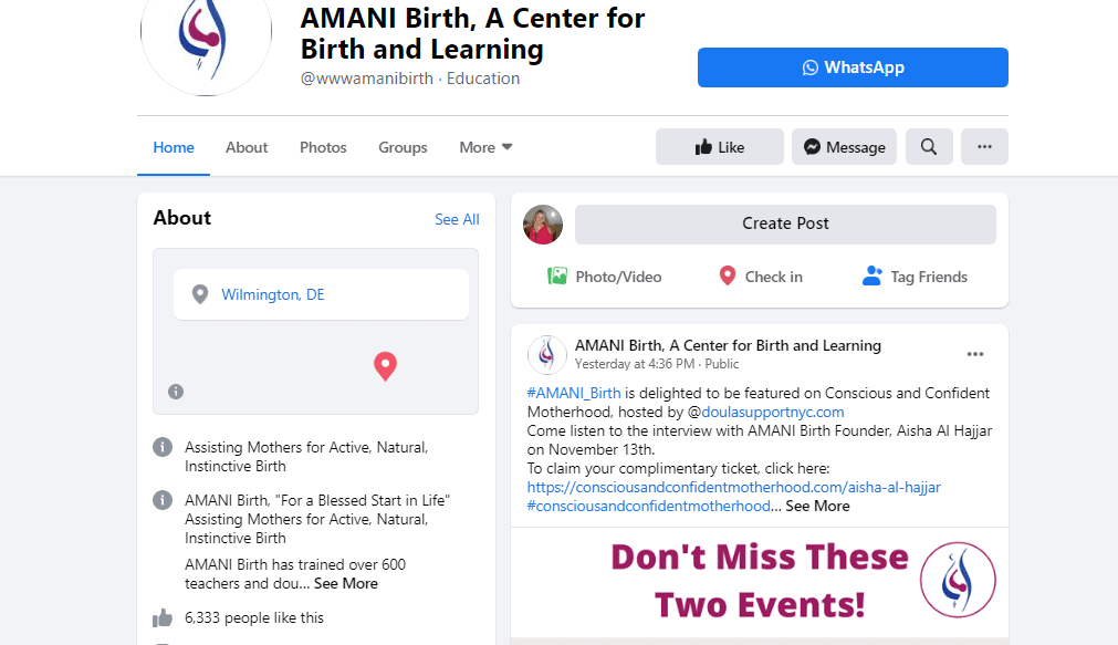 amanibirth.online course sample