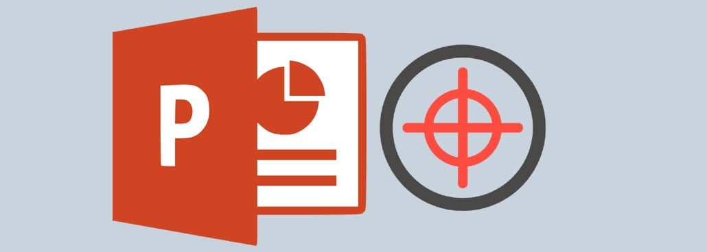 Screenshot with PowerPoint icon and border/target icon.